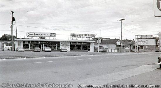 Limoilou dans les années 1970 (21) : commerces de la Pointe-aux-Lièvres - Jean Cazes