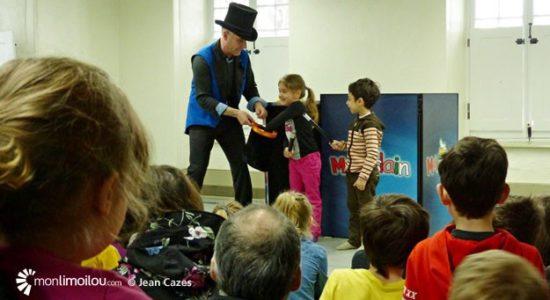 Maizerets reçoit le Festival de magie - Jean Cazes