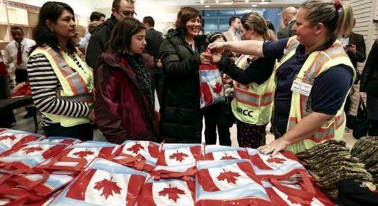 Deux familles syriennes parrainées par un comité citoyen de Montcalm et Saint-Jean Baptiste - Céline Fabriès