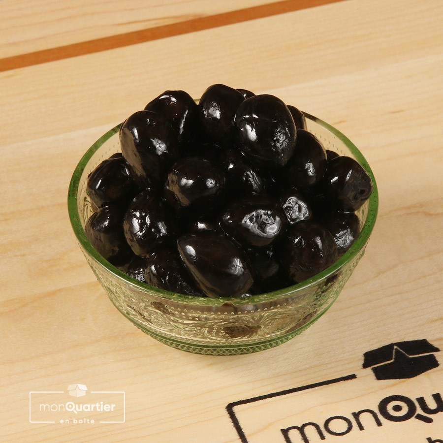 Olives noires grecques