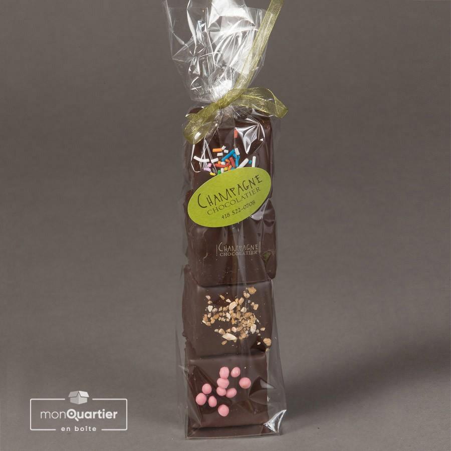 Guimauves au chocolat