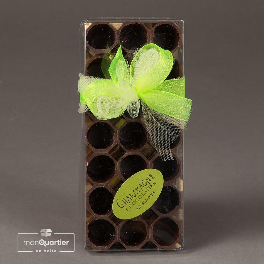 Shooters au chocolat