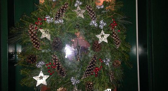 La couronne de Noël du voisin - François Talbot