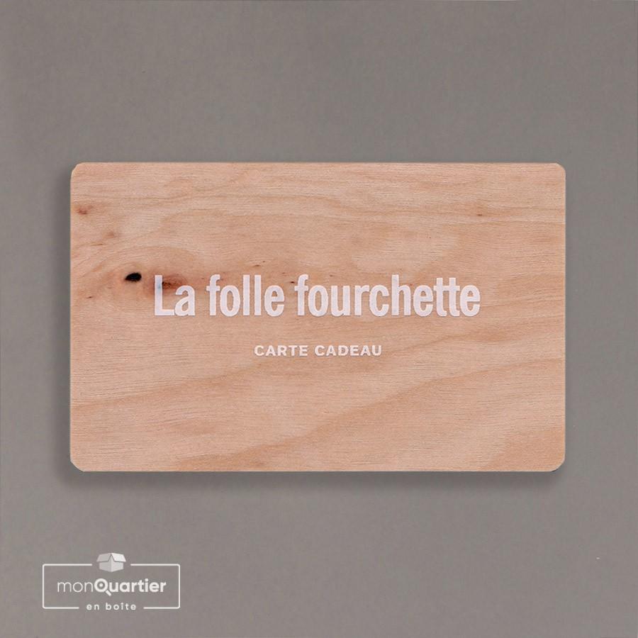 Certificat cadeau Folle Fourchette
