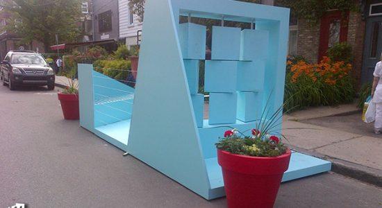 La galerie urbaine rendra hommage aux bâtisseurs - Céline Fabriès