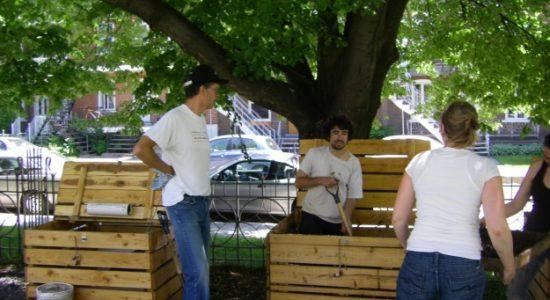 Les sites de compostage communautaire à pleine capacité dans le Vieux-Limoilou - Raymond Poirier