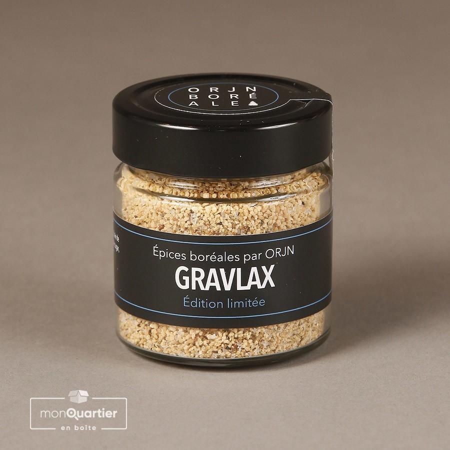 Épices boréales par ORJN – Gravlax