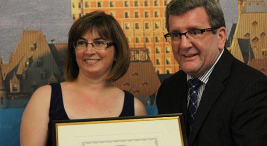 La YWCA reçoit la médaille de la Ville de Québec - Céline Fabriès