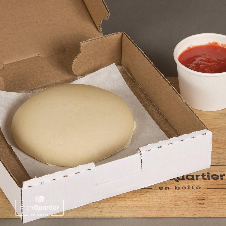 Pâte à pizza et sauce tomate maison