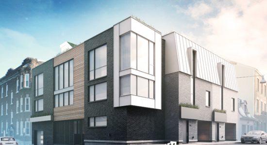 Nouvelle construction sur l'avenue Bourlamaque - Marc-Antoine Viel