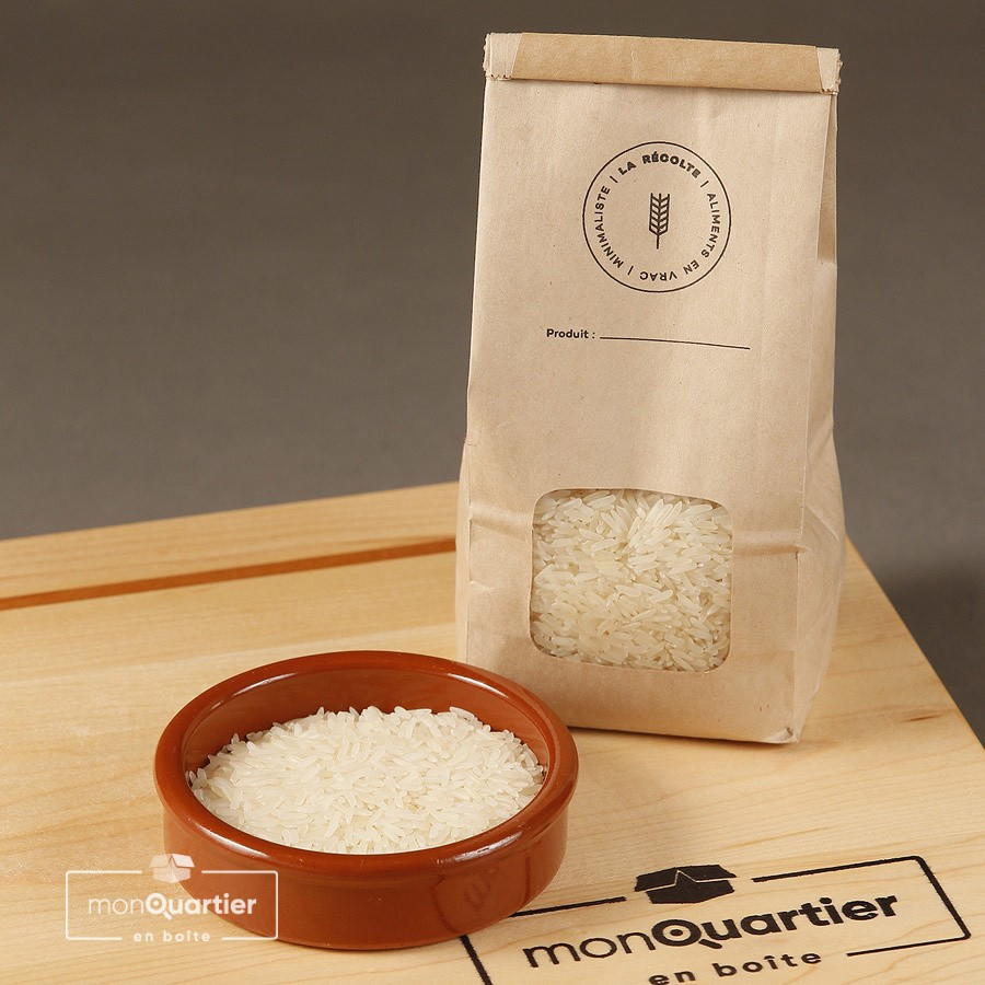 Riz long grain blanc