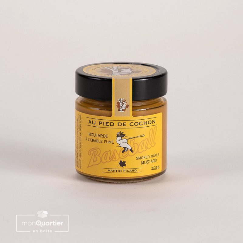 Moutarde Pied de cochon à l'érable fumé
