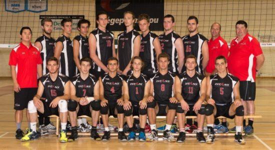 Les Titans champions de la Coupe de l'Est du Canada en volleyball - Monlimoilou