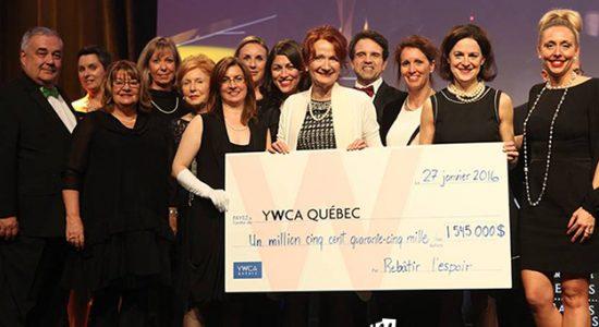 La YWCA Québec atteint son objectif  de campagne et récolte 1 545 000 $ en dons - Céline Fabriès