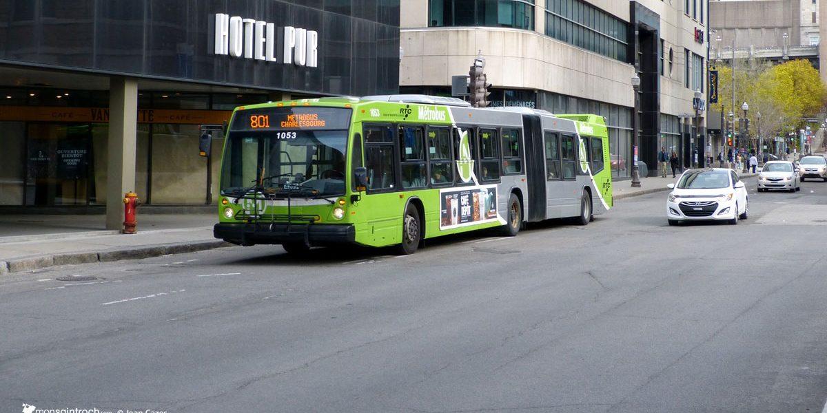 59,6 M$ au RTC pour améliorer le transport collectif à Québec | 18 juillet 2017 | Article par Suzie Genest