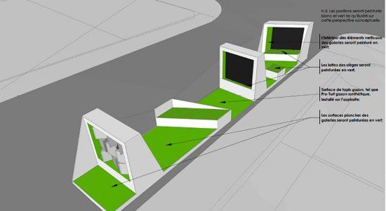 Un concept environnemental pour la Galerie urbaine - Céline Fabriès