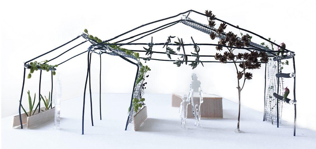 Jardin tridimensionnel par Bourgeois Lechasseur - SPOT 2017