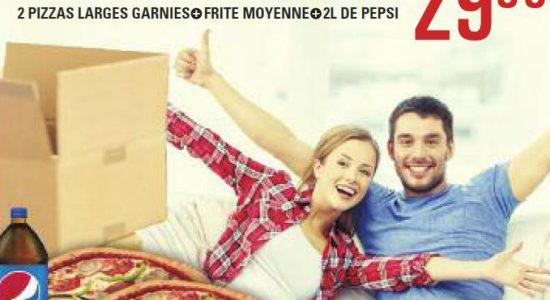 Promo déménagement   Pizza Salvatore