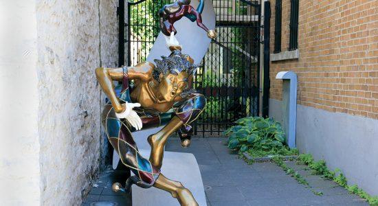 La Caisse Desjardins ouverte à la vente de la statue de bronze - Marine Lobrieau