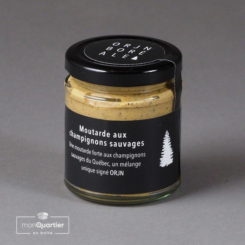 Moutarde aux champignons sauvages