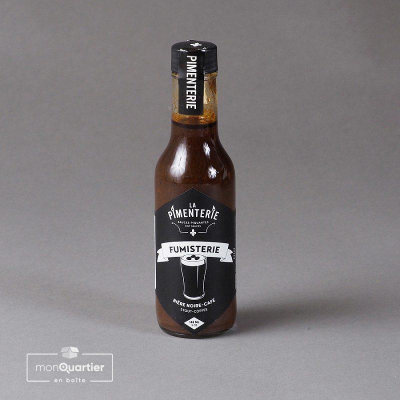 Sauce piquante bière noire-café – La Fumisterie