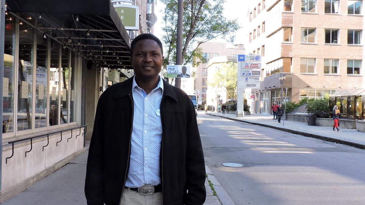 Mbaï chef intérimaire de Démocratie Québec | 30 novembre 2017 | Article par Céline Fabriès