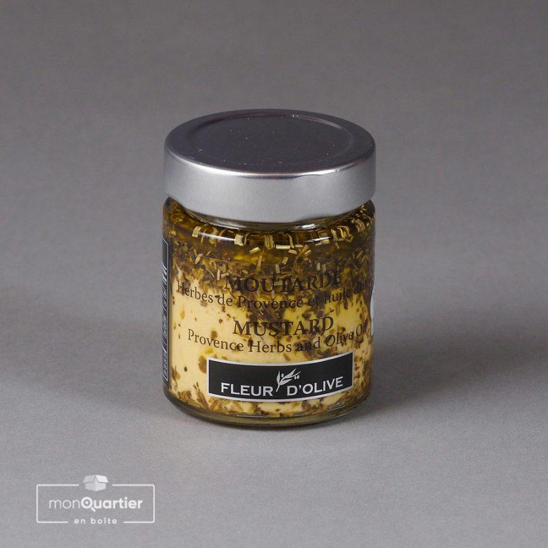 Moutarde herbes de Provence et huile d'olive