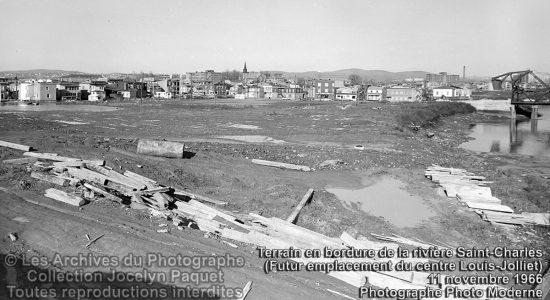 Limoilou dans les années 1960 (82) : futur emplacement du centre Louis-Jolliet - Jean Cazes