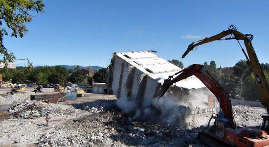 Chantier : démolitions sur la rue de la Pointe-aux-Lièvres (3 et fin) - Jean Cazes
