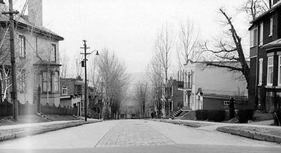 L'avenue Désy en 1943 - Marine Lobrieau