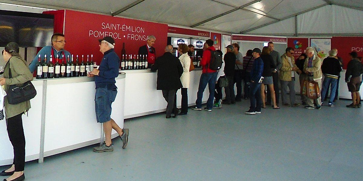 Dégustations et plaisir à Bordeaux fête le vin à Québec | 31 août 2017 | Article par Céline Fabriès