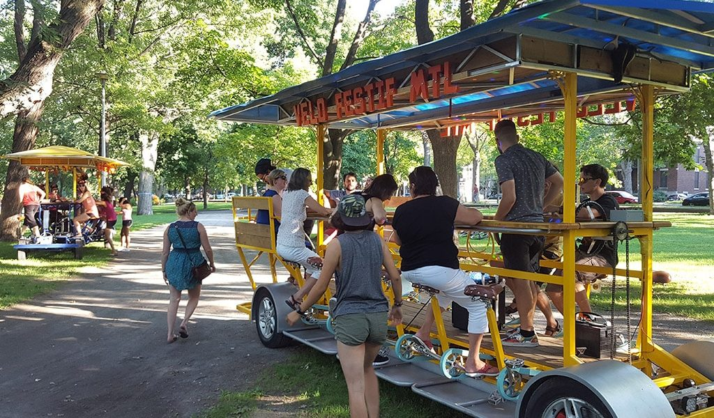 Un 9e PARK(ing) Day et un premier Vélo Festif à Québec | 29 août 2017 | Article par Suzie Genest