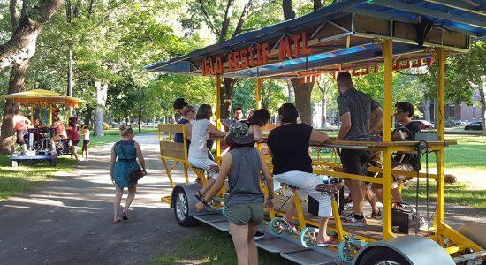 Un 9e PARK(ing) Day et un premier Vélo Festif à Québec - Suzie Genest