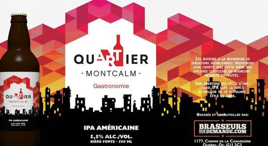 Montcalm s'offre sa bière locale - Marine Lobrieau