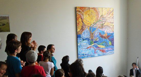 Une initiation à la mosaïque au Collège Stanislas - Marine Lobrieau