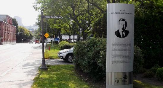 Le parc de la Jeunesse prend le nom de Gilles Lamontagne - Suzie Genest