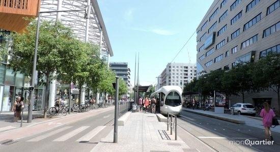 Un tramway au coeur du plan de mobilité de Démocratie Québec - Céline Fabriès
