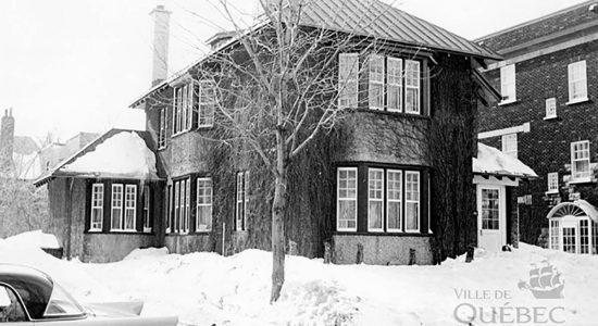 Le 1080 avenue des Érables en 1962 - Marine Lobrieau