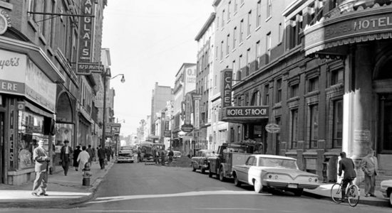 Saint-Roch dans les années 1960 (14) : Hôtel Saint-Roch, rue Saint-Joseph Est - Jean Cazes