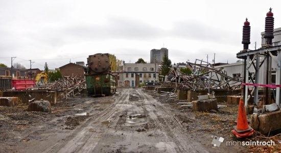 Poste de la Reine : Hydro-Québec achève le démantèlement - Jean Cazes