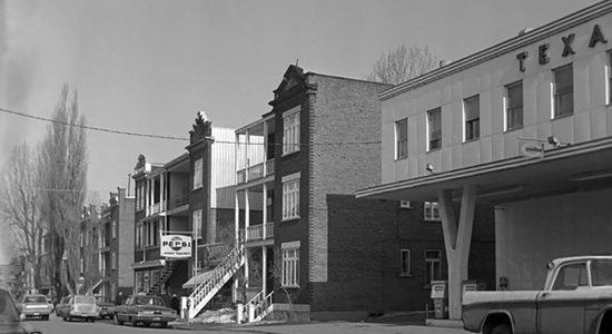 L'avenue Cartier en 1966 - Marine Lobrieau
