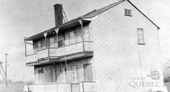 La maison des Pères du Très-Saint-Sacrement en 1915 - Marine Lobrieau