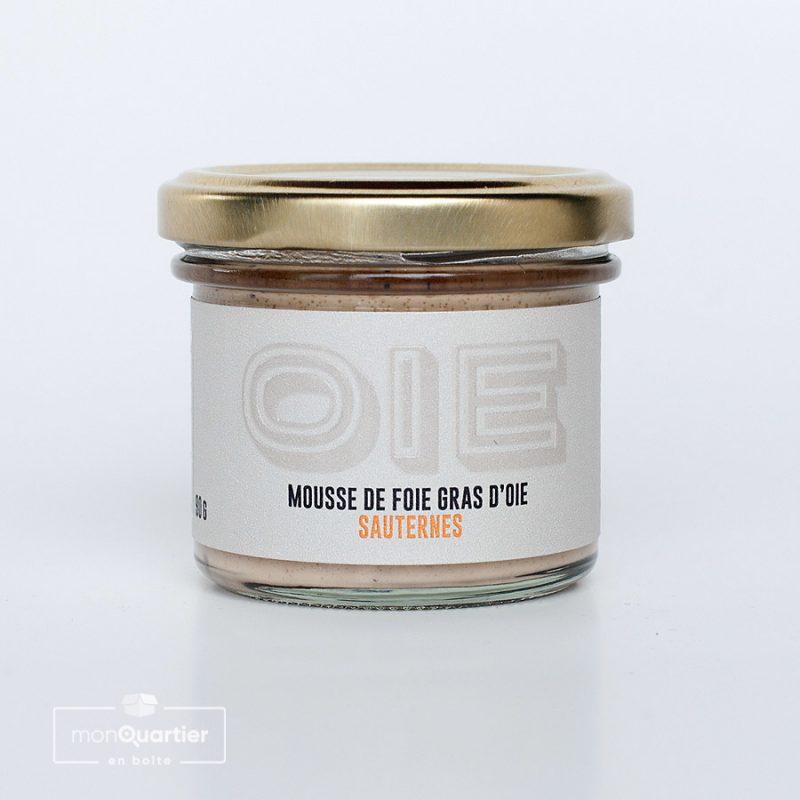 Mousse de foie gras d'oie au Sauternes