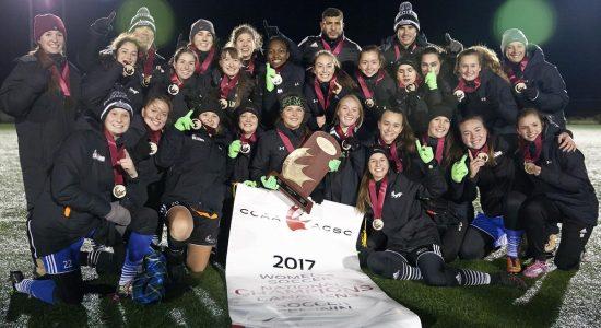 Un 10e titre pour l'équipe féminine de soccer des Élans de Garneau - Marine Lobrieau