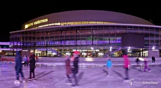 La patinoire et le sentier de glace de la place Jean-Béliveau maintenant accessibles - Jean Cazes