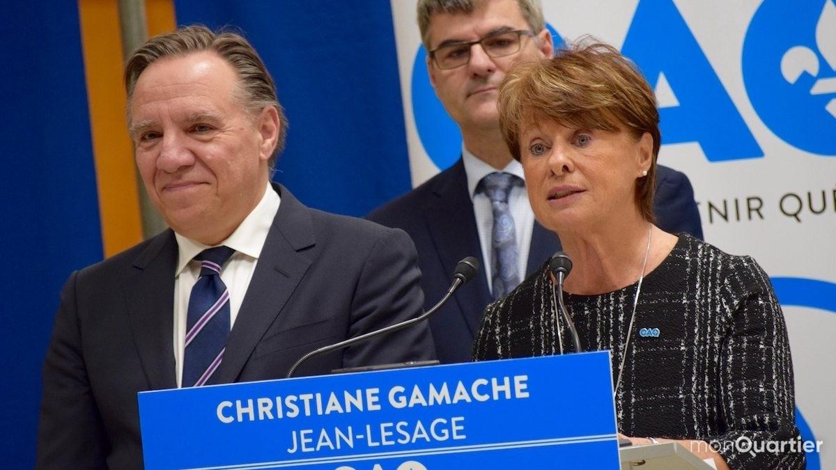 Coalition Avenir Québec:  Christiane Gamache briguera Jean-Lesage | 8 décembre 2017 | Article par Viviane Asselin