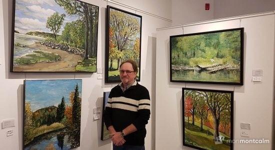 Michel Bénard – Se laisser éblouir par la ville de Québec - Marine Lobrieau