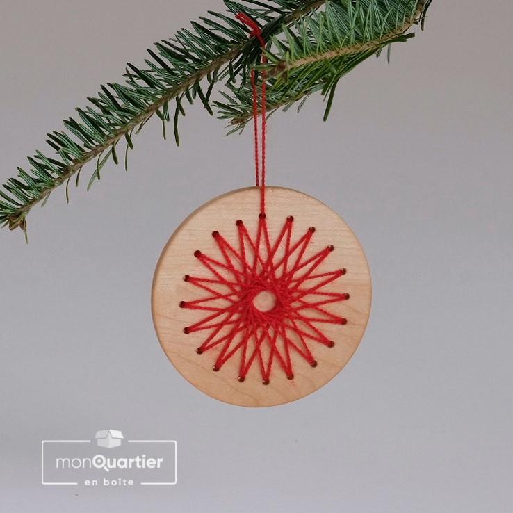 Boule de Noël à filer
