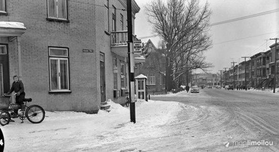 Limoilou dans les années 1950 (39) : intersection 4e Avenue et 8e Rue - Jean Cazes