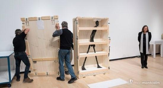Les oeuvres de Giacometti sont arrivées au MNBAQ - Céline Fabriès